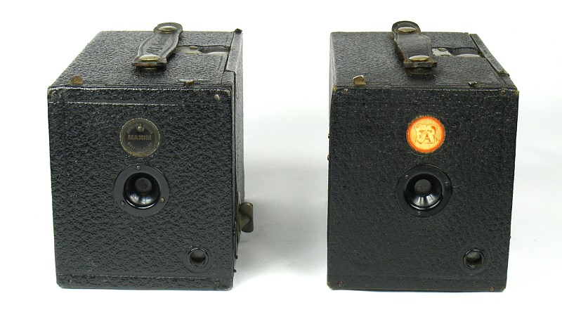 Image of the Maxim No 1 and Ensign Box Cameras