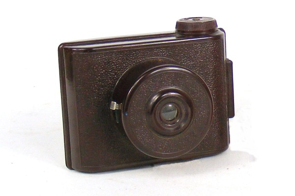 Image of brown V.P. Twin camera