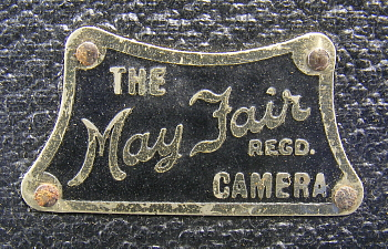 Image of May Fair name plate