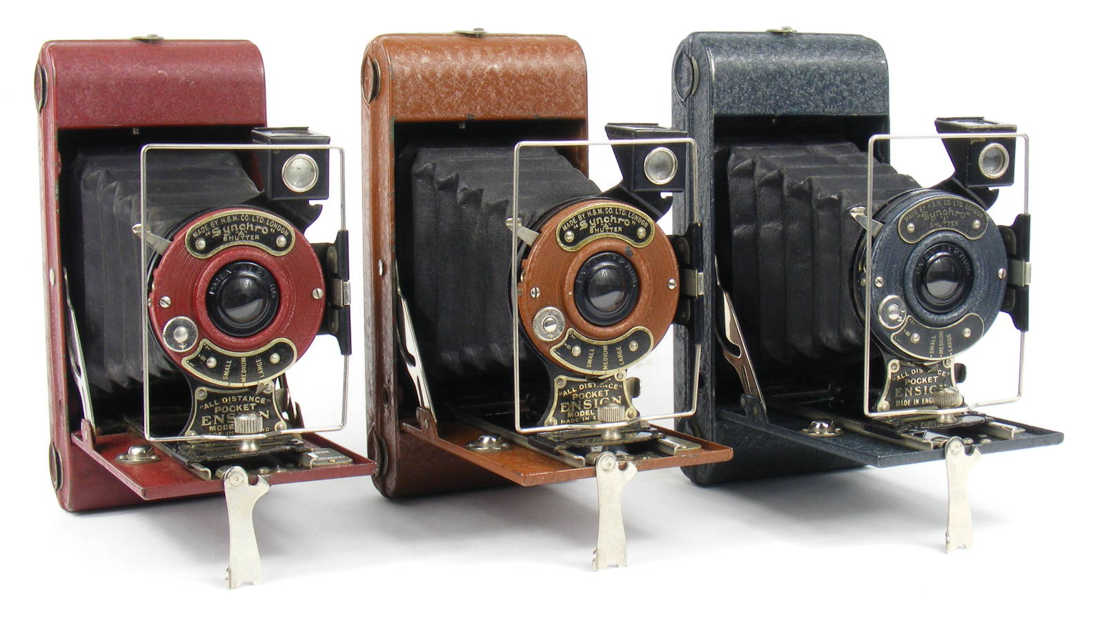 Image of All Distance Pocket Ensign Folding Camera (colours)