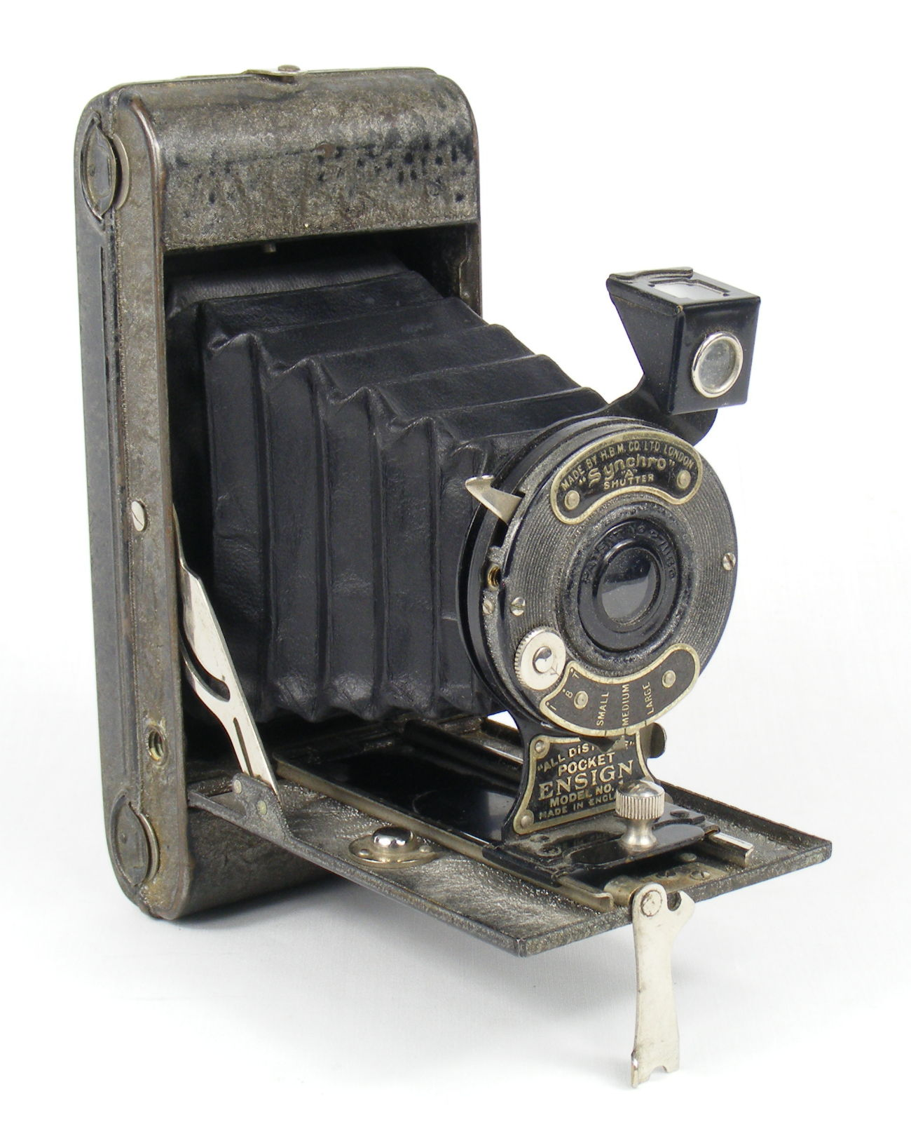 Image of All Distance Pocket Ensign Folding Camera (silver/grey)