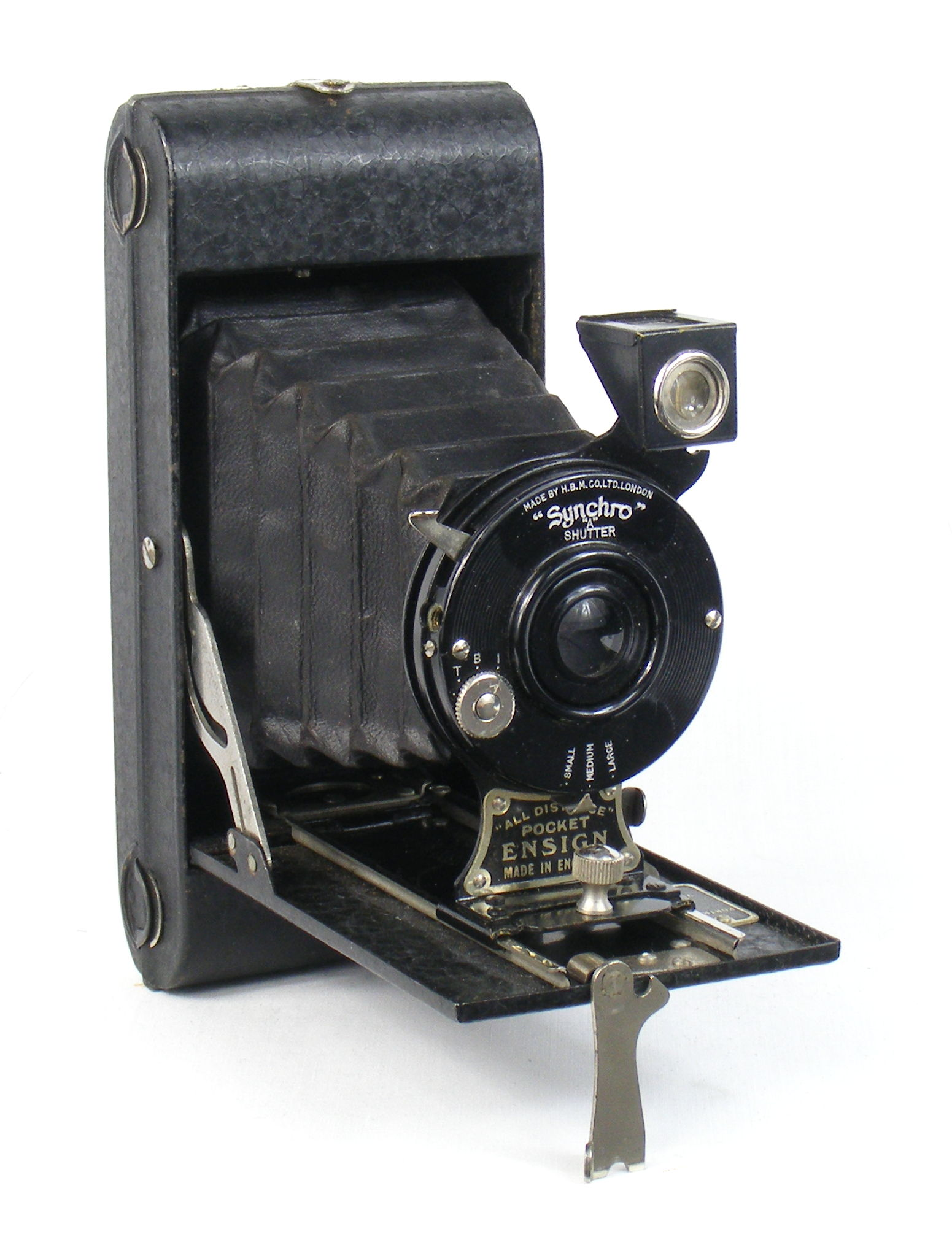 Image of All Distance Pocket Ensign Folding Camera (early model)
