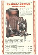 Thumbnail of Advert for No 4 Ensign Carbine Tropical Camera