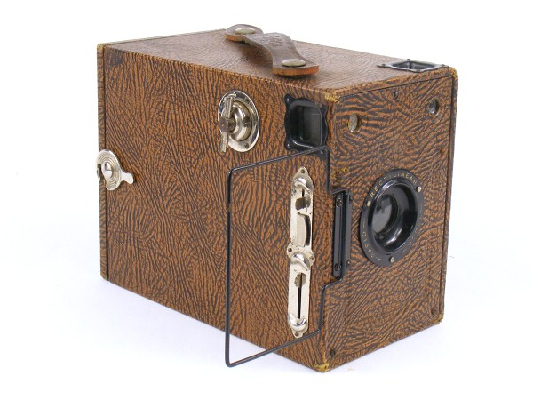 Image of Ensign 2¼B Box Camera (Rapid Rectilinear Model)