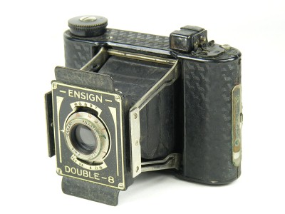 Ensign Double-8 Camera made by Houghton-Butcher Manufacturing Co Ltd.