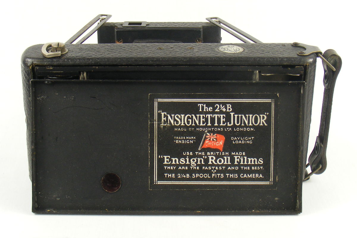 Image of label for Houghtons Ensignette Junior Camera