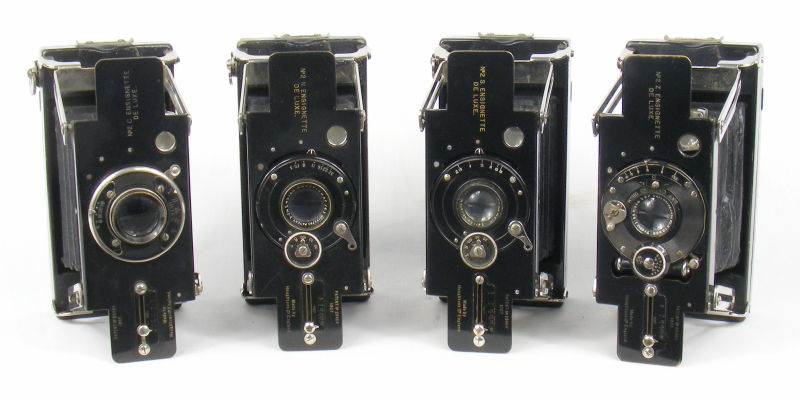 Image of Houghtons No2 Ensignette De Luxe Cameras (Models C, Z and N)