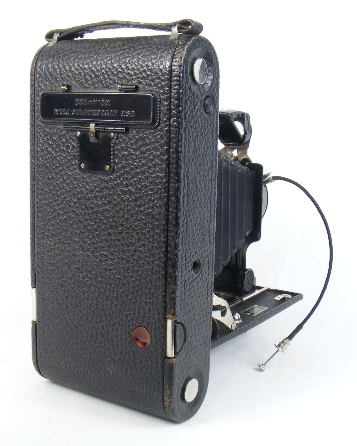 Image of No 3A Autographic Kodak Junior camera (rear view)