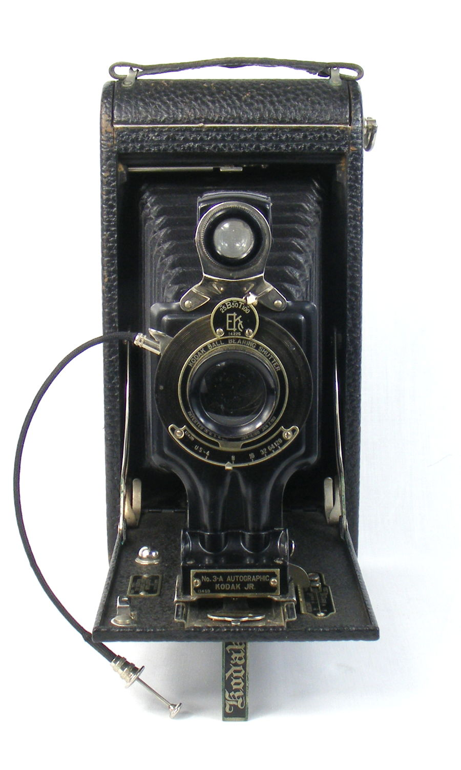 Image of No 3A Autographic Kodak Junior camera (front view)