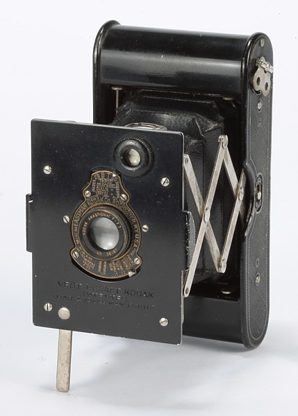 Image of Vest Pocket Autographic Kodak Special Camera with fixed focus Anastigmat lens (f7.7)