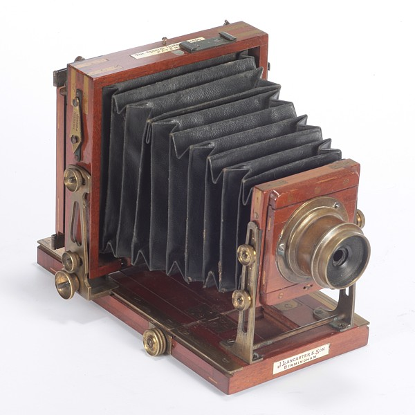 Image of Lancaster Special Instantograph Tailboard Camera