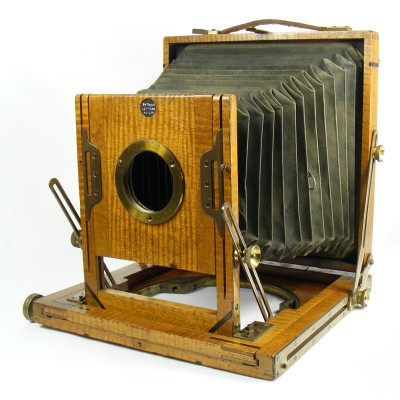 Image of Field Camera marked By Royal Letters Patent, made by Midland Camera Company