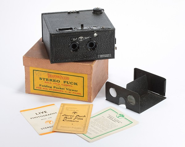 Image of Thornton-Pickard Stereo Puck Camera