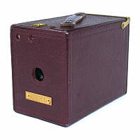 Thumbnail of Ansco No 2A box camera (Buster Brown Special)