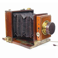 Thumbnail of early Rouch Tailboard camera
