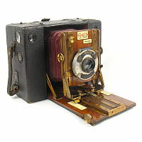 Sanderson Roll Film Camera